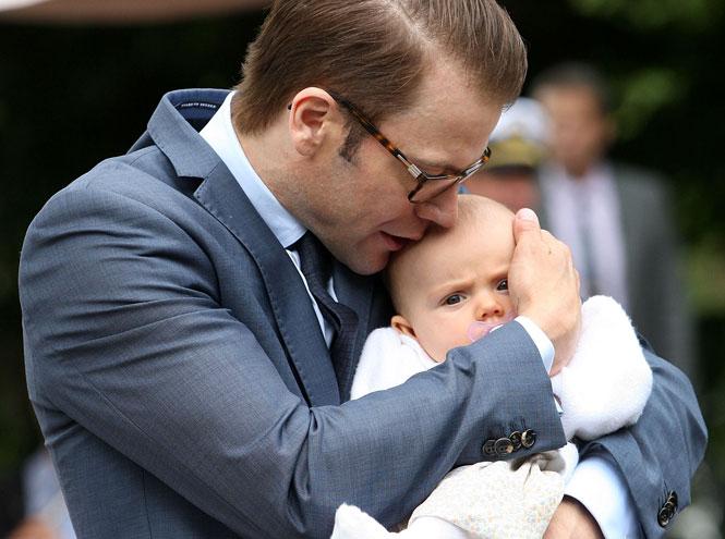 Фото №10 - 25 по-настоящему милых фото самых знаменитых отцов в мире
