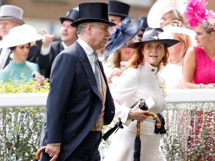 Фото №1 - Самая счастливая разведенная пара: в чем секрет отношений Сары Фергюсон и принца Эндрю