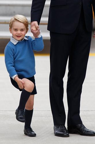 Фото №22 - Воспитание королей: что можно и что нельзя Джорджу, Шарлотте и Луи Кембриджским