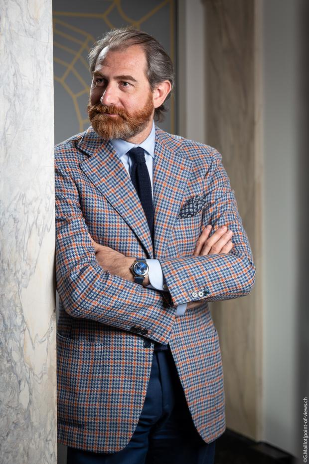 Фото №1 - «Красота для итальянцев— это образ жизни»: Фабрицио Буонамасса Стильяни— о том, как создаются часы, пожалуй, самого римского бренда