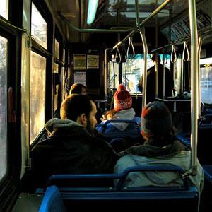 Фото №1 - С машин на автобусы