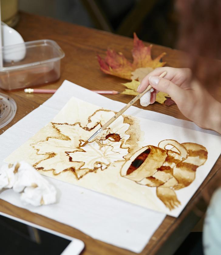 Фото №1 - Кофейная живопись, или coffee art
