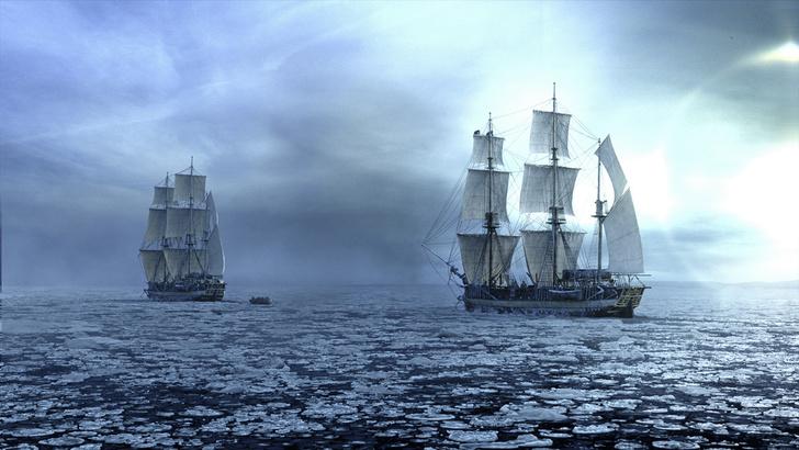Фото №1 - Исторический детектив: Корабли без капитанов