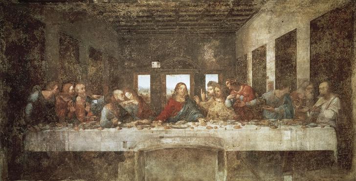 Фото №1 - Эксперт объяснил скрытый смысл «Тайной вечери» да Винчи