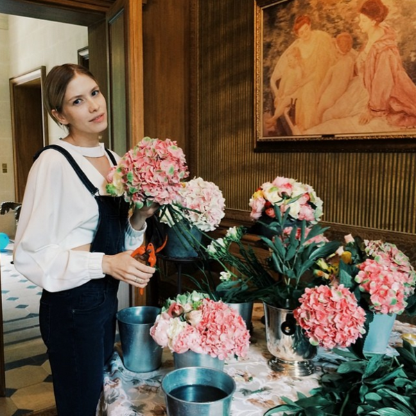 Фото №12 - Звездный Instagram: Знаменитости и цветы