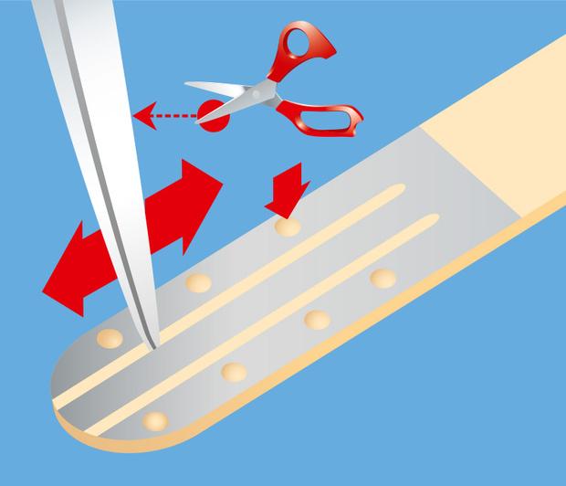 Фото №4 - Как сделать дубликат ключа из палочки от мороженого