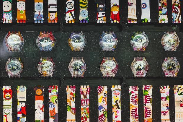 Фото №1 - Как создать часы Swatch с собственным паттерном