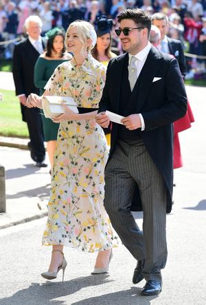Фото №21 - Свадьба Меган Маркл и принца Гарри: как это было (видео, фото, комментарии)