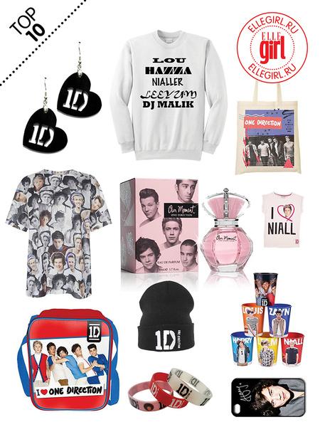 Фото №1 - Топ-10: Вещи для фанов One Direction