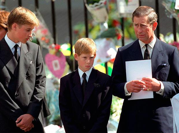 Фото №7 - Братья, соперники, наследники: как менялись Уильям, Гарри и их отношения с годами