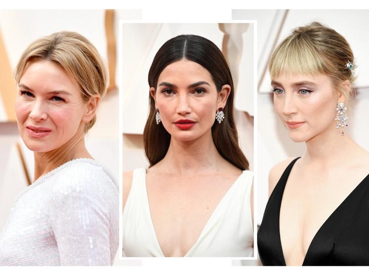 Фото №1 - Лучшие бьюти-образы с красной дорожки «Оскара-2020»