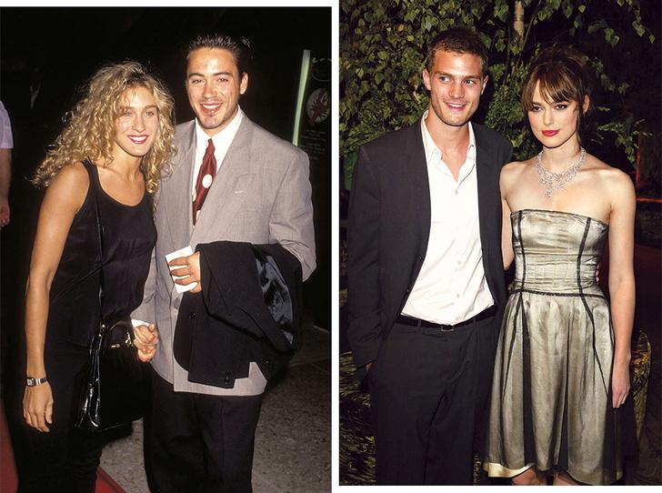 Фото №1 - 8 неожиданных звездных пар: с кем встречались знаменитости в молодости
