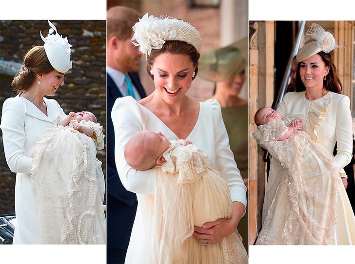 Фото №1 - Самые трогательные моменты крестин детей герцогов Кембриджских