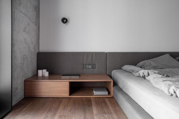 Фото №15 - Брутальная квартира 82 м² с ванной за стеклом