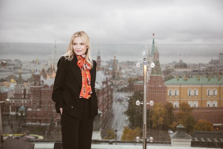 Фото №4 - В Москве состоялись пресс-конференция и фотоколл при участии Мишель Пфайффер по фильму «Малефисента: Владычица тьмы»