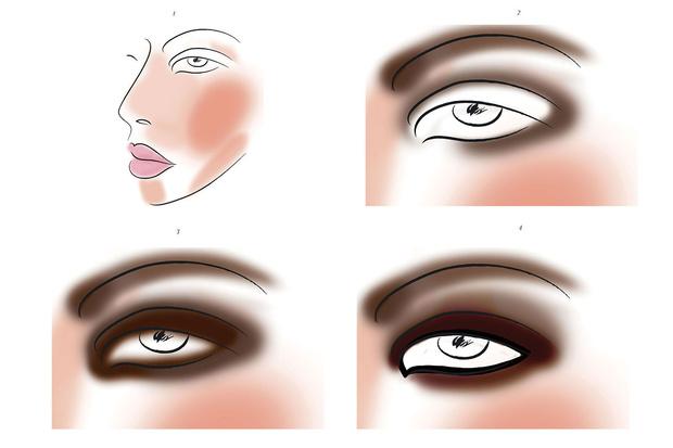 Фото №2 - Новогодний макияж: Smoky eyes