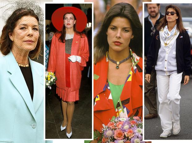 Фото №1 - Стиль принцессы Каролины: модные правила старшей дочери Грейс Келли