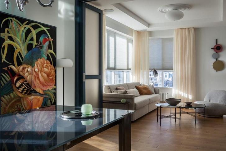 Фото №2 - Петербургская квартира с яркими деталями