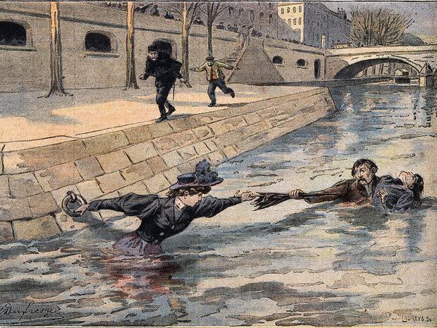 Фото №7 - Парижская Офелия: как таинственная утопленница из Сены спасла тысячи жизней