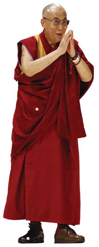 Фото №1 - Детали костюма: на вершине Тибета