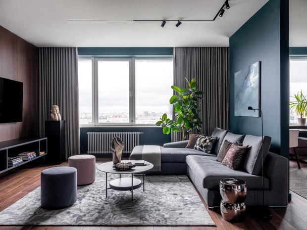 Фото №2 - Современная квартира со свободной планировкой 120 м²