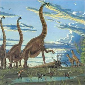Фото №1 - Динозавры жили в Йемене