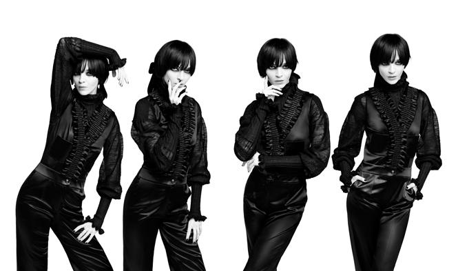 Фото №2 - Новая коллекция Chanel в объективе Карла Лагерфельда