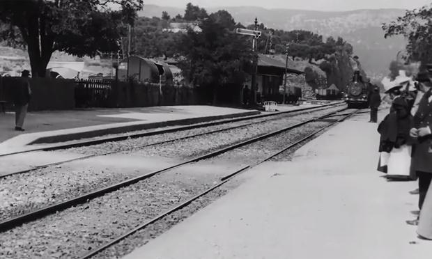 Фото №1 - Чтобы улучшить фильм «Прибытие поезда» до формата 4K, наш соотечественник использовал нейросеть (видео)