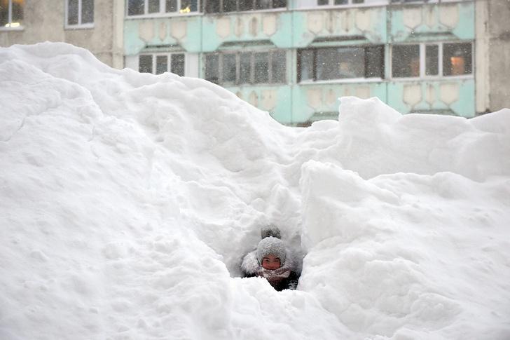 Фото №1 - Навалило! Когда снега действительно много (галерея)