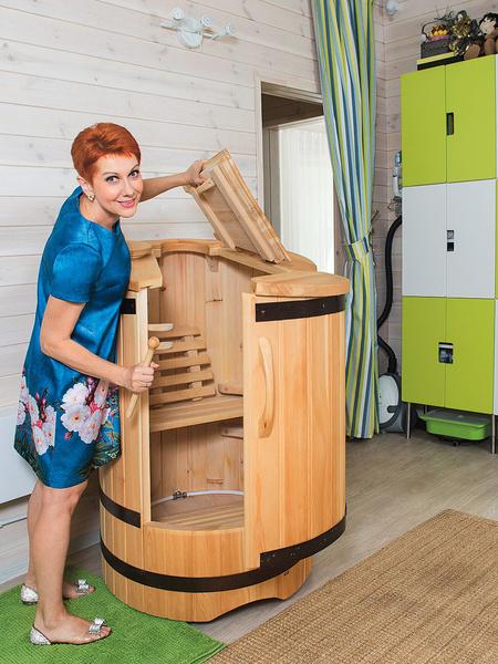 Фото №6 - Дом Оксаны Сташенко: денежные рыбкии печка в секторе любви