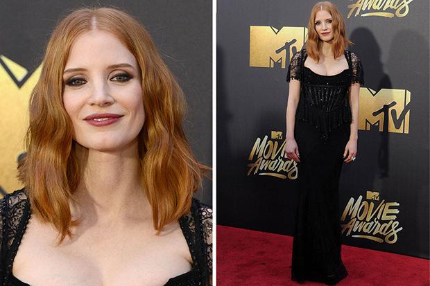 Джессика Честейн MTV Movie Awards 2016