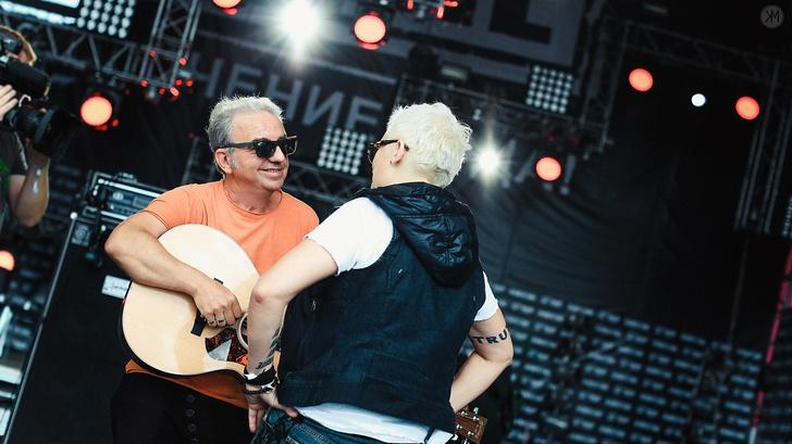 Фото №2 - «Чайф» и Арбенина раскрыли секреты совместного концерта