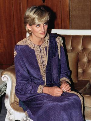 Принцесса Диана в Пакистане, 23 мая 1997