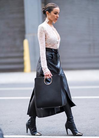 Фото №10 - С чем носить юбки макси: 7 универсальных сочетаний на любой случай