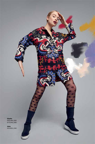 Фото №15 - Модная эклектика в новой осенне-зимней коллекции Desigual