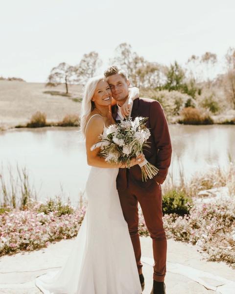 Джессика Лонг с мужем