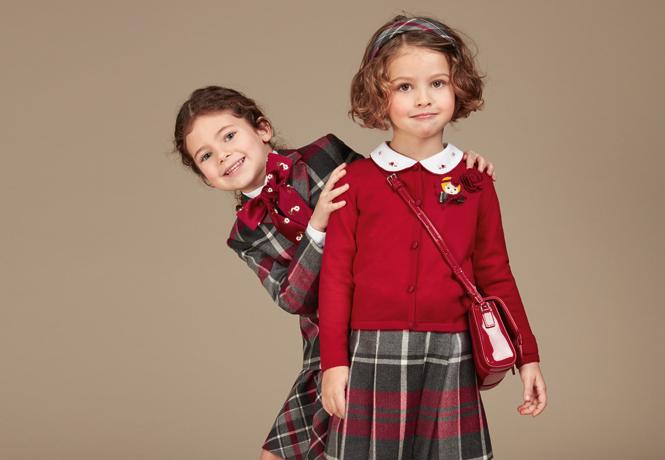 Фото №4 - Модные школьники: детская коллекция Dolce&Gabbana осень-зима 16/17
