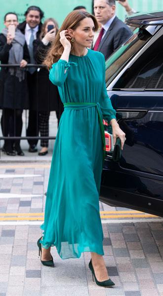 Фото №17 - Лучшие образы герцогини Кейт в 2019 году