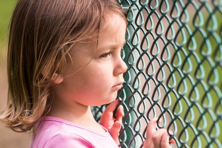 Ребенок стыдится
