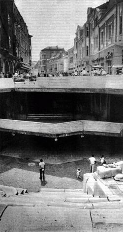 Таким открывается современному взгляду античный стадион.