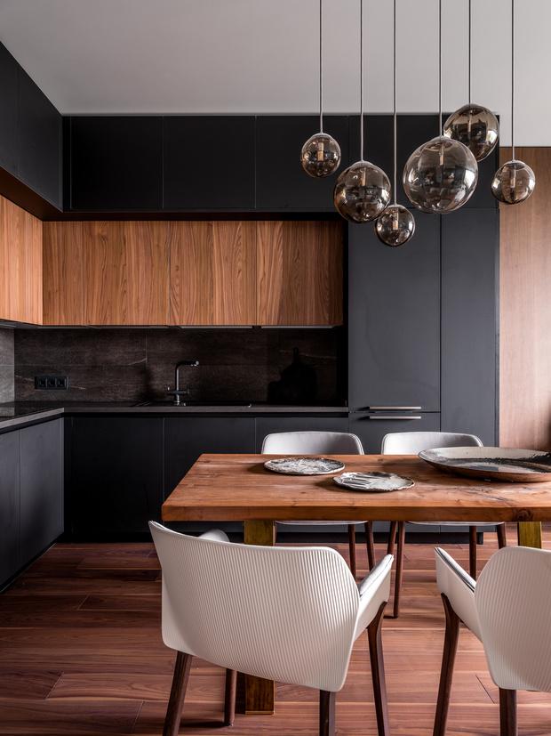 Фото №6 - Современная квартира со свободной планировкой 120 м²