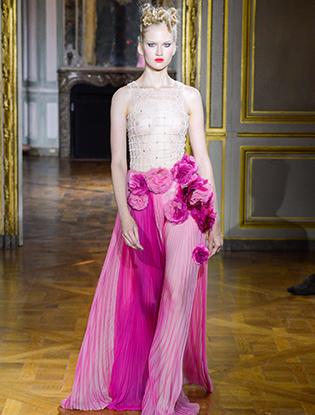 Фото №39 - Неделя Высокой моды в Париже: Ulyana Sergeenko Couture F2015