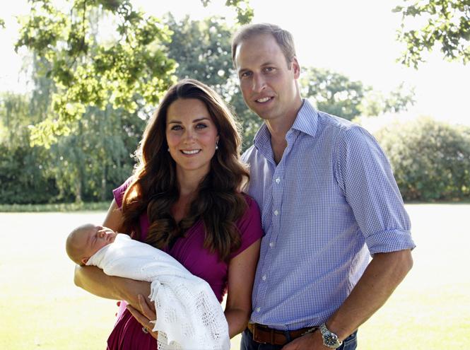 Фото №6 - Кейт Миддлтон сделала первые фото принцессы Шарлотты
