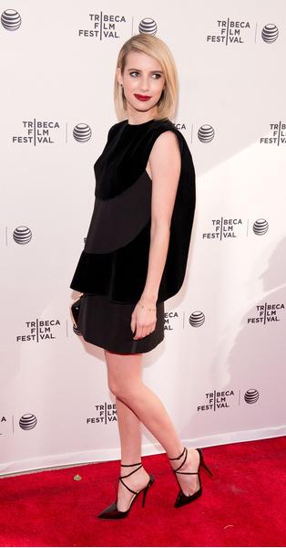 Эмма Робертс на Tribeca Film Festival 2014