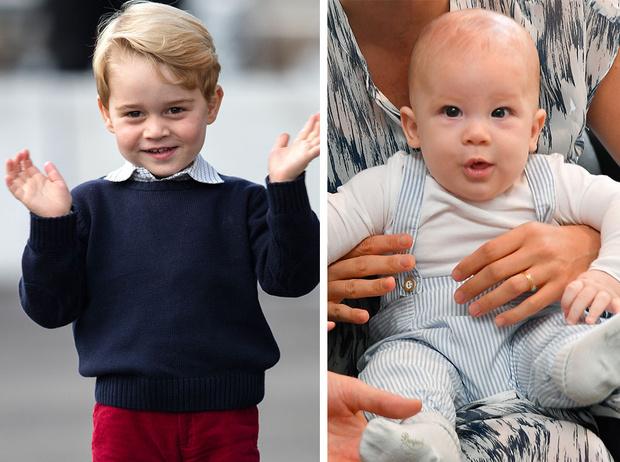 Фото №1 - По разные стороны: почему принц Джордж и Арчи Сассекский не смогут быть друзьями