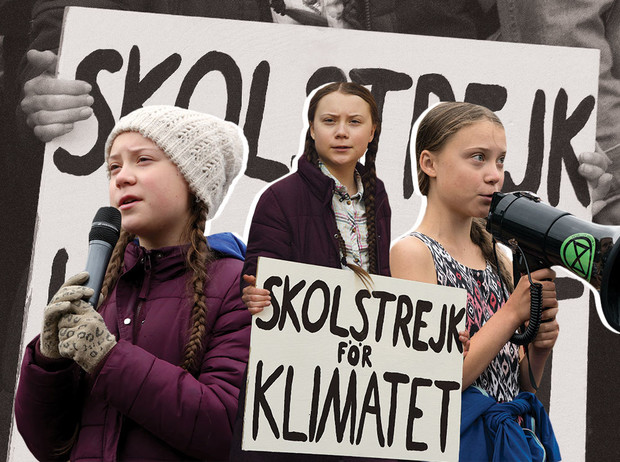 Фото №1 - Грета Тунберг: инструмент политической пропаганды или школьница, которая спасет мир?