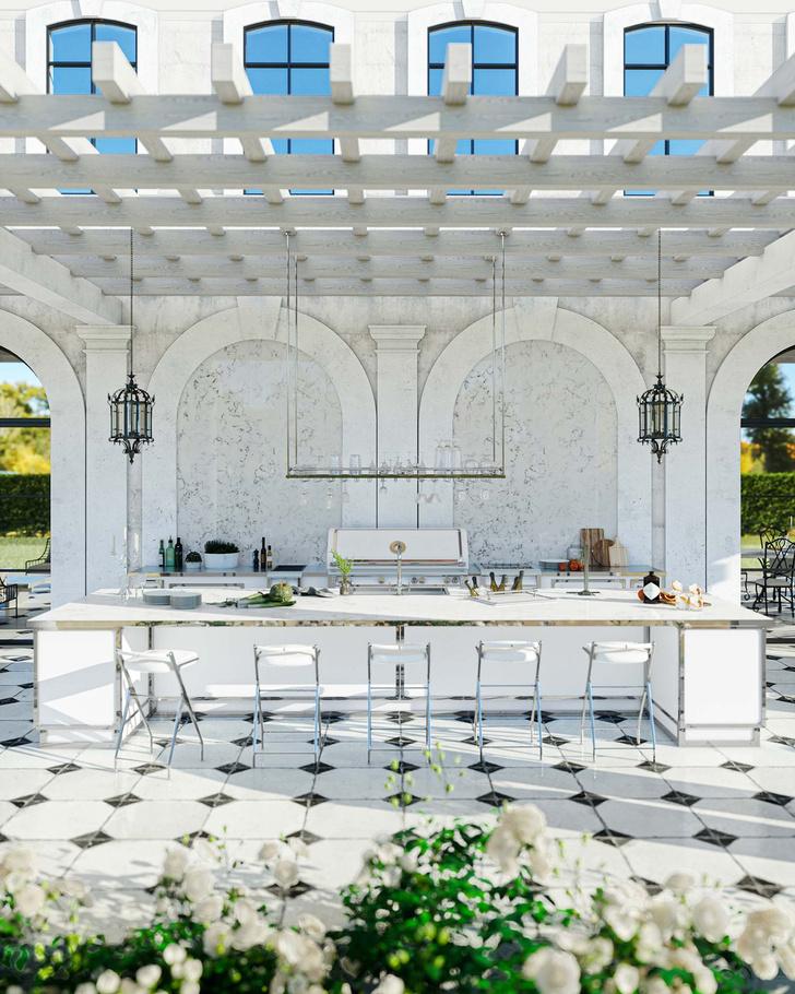 Фото №1 - Новые кухни Officine Gullo для мероприятий на открытом воздухе