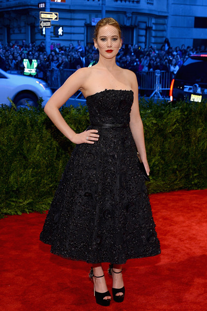 Дженнифер Лоуренс в Christian Dior