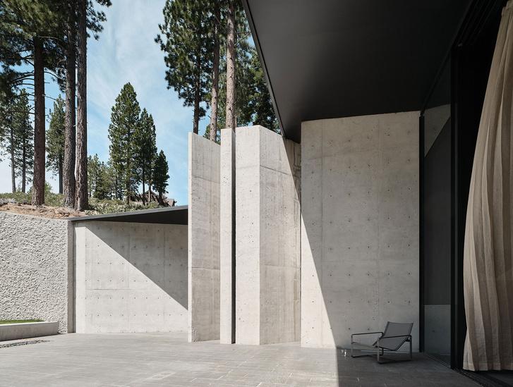 Фото №2 - Модернистский дом на горнолыжном курорте в Калифорнии