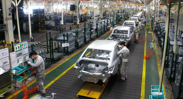 Фото №2 - В Ухане вновь заработал автомобильный завод